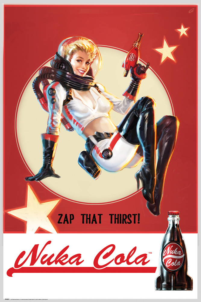 Plakát Fallout 4 - Zap That Thirst (PC)