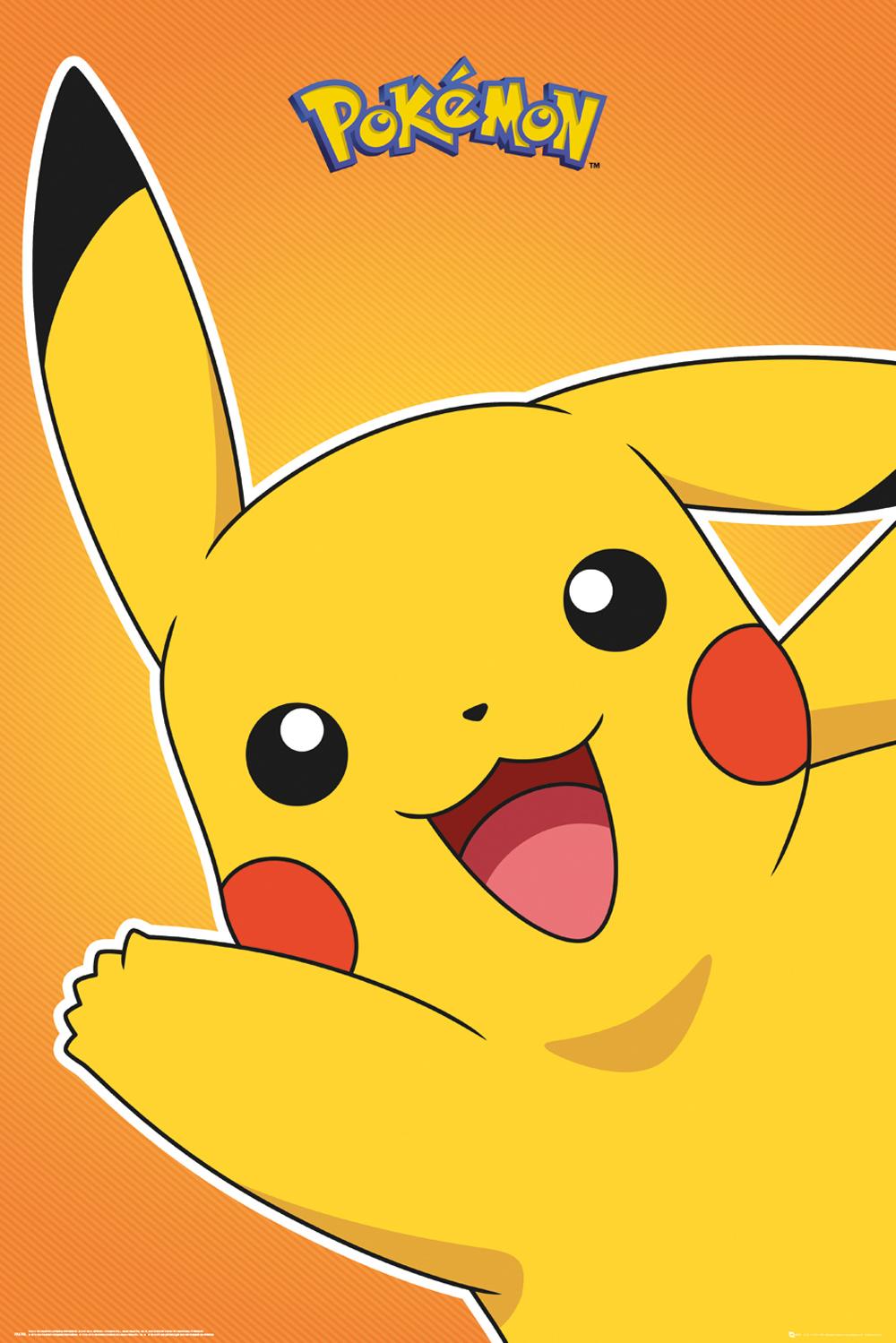 Plakát Pokémon - Pikachu (PC)