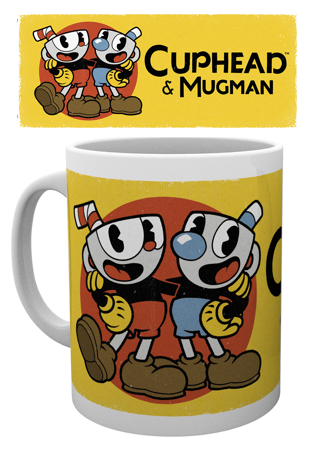 Hrnek Cuphead - Cuphead & Mugman Solo (PC)