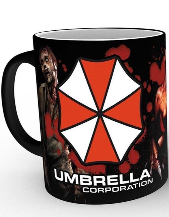 Hrnek Resident Evil - Umbrella (Měnící hrnek) (PC)
