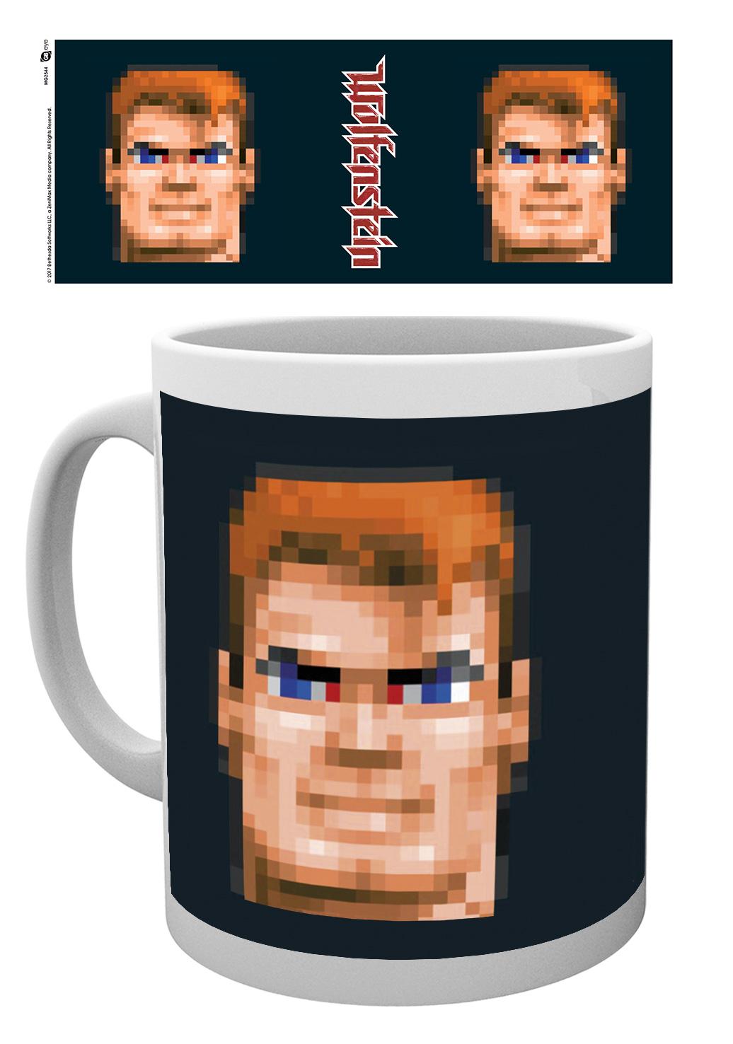 Hrnek Wolfenstein - BJ Blazkowicz (PC)