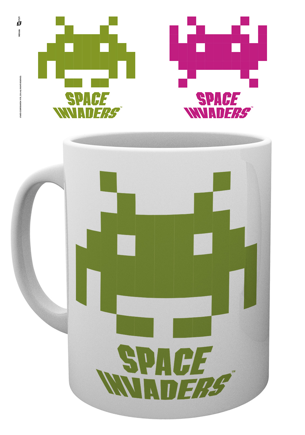 Hrnek Space Invaders - Crab (PC)