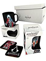 Dárkový set Assassins Creed - hrnek, sklenice, podtácky