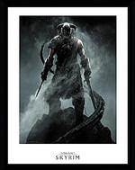 Zarámovaný plakát Skyrim - Dragonborn