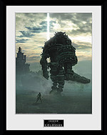 Zarámovaný plakát Shadow of the Colossus - Key Art