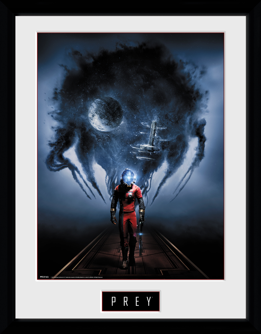 Zarámovaný plakát Prey - Key Art (PC)