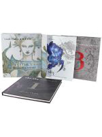 The Sky: The Art of Final Fantasy - Slipcased edition - poškozené hřbety