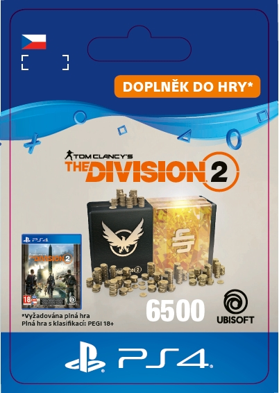 The Division 2 - 6500 Credits (PS4 DIGITAL)