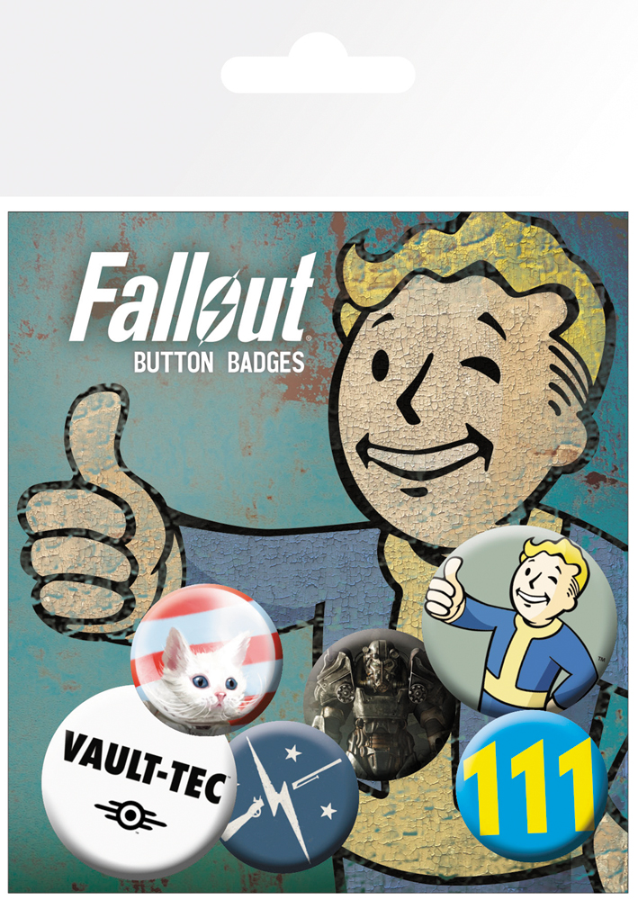Odznaky Fallout 4 - Mix (PC)