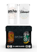 Sklenice Harry Potter - Erby (set 2 ks)