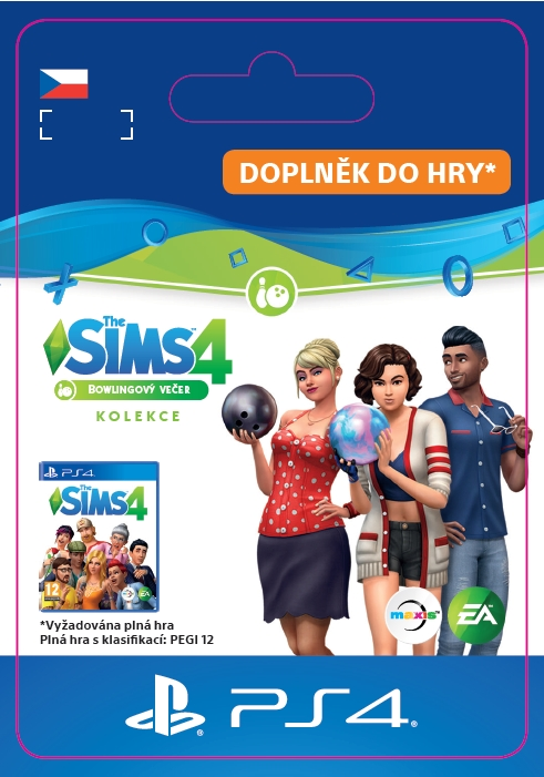 The Sims 4 Bowling Night Stuff (PS4 DIGITAL)
