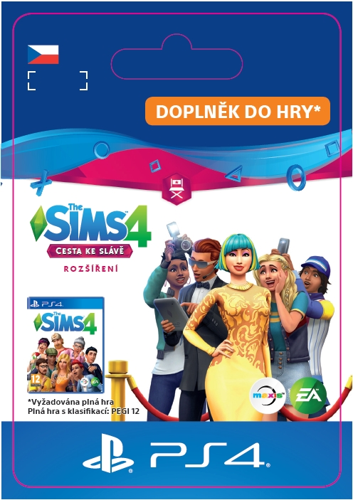 The Sims 4 - Get Famous (PS4 DIGITAL)