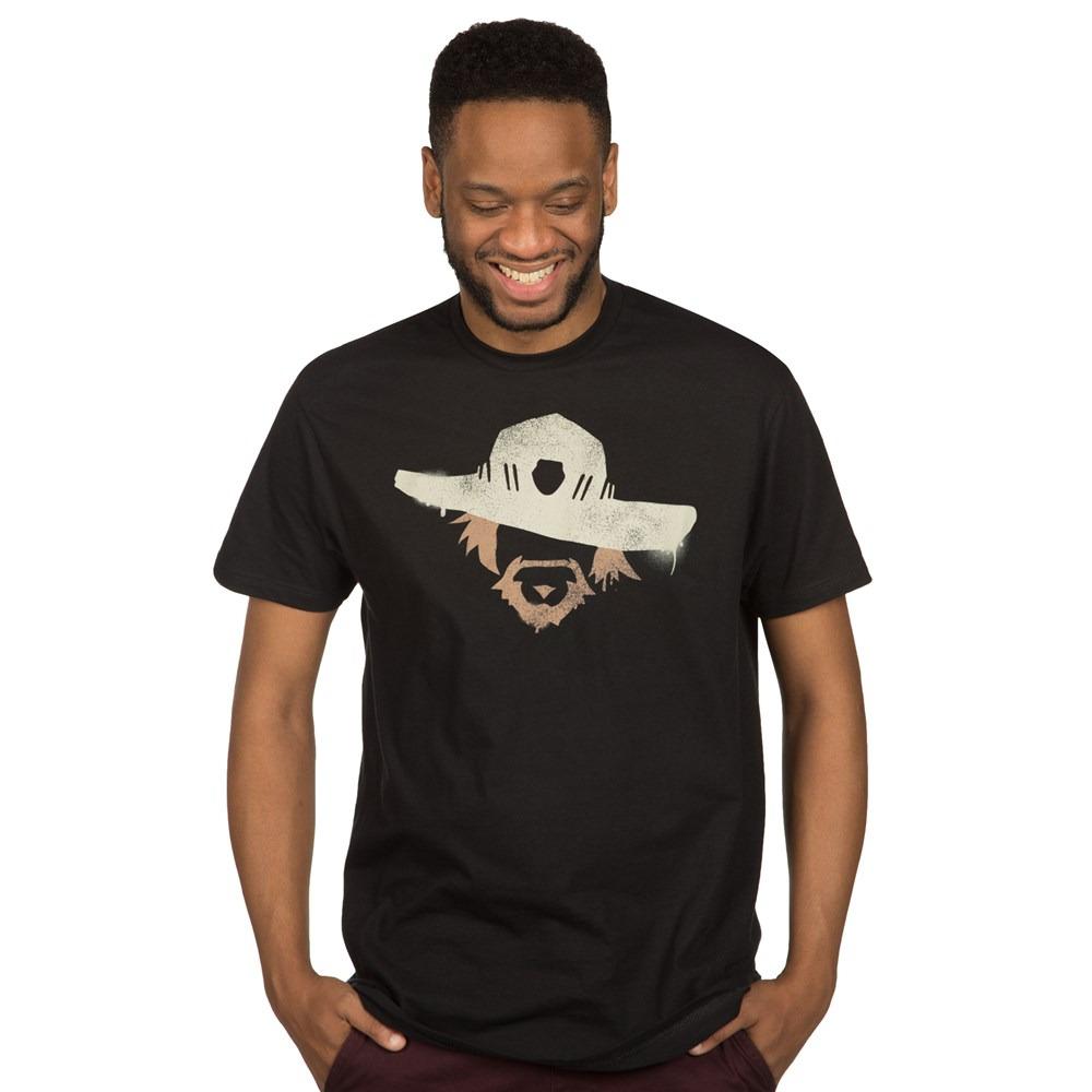 Tričko Overwatch - McCree Spray (americká vel. S / evropská M) (PC)