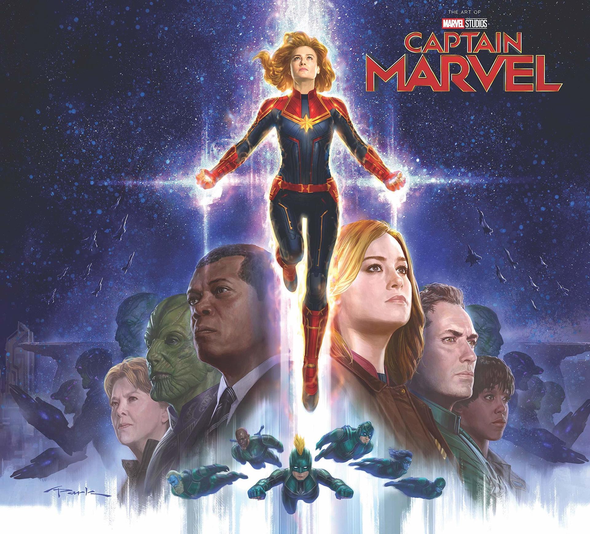 Kniha The Art of Captain Marvel (film) (PC)