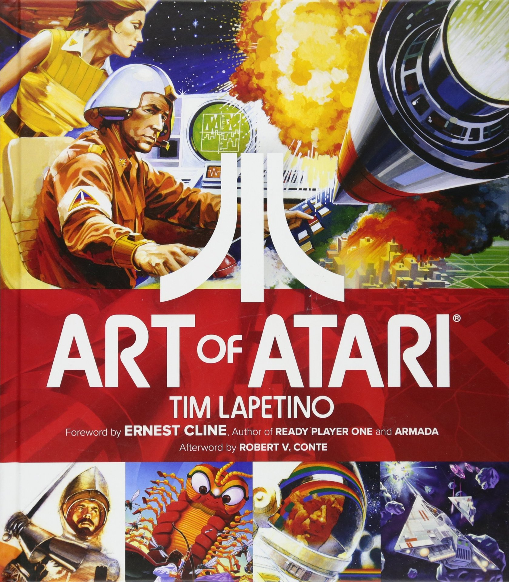 Kniha Art of Atari (PC)