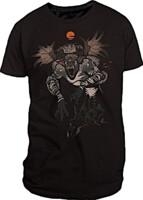 Tričko Zaklínač - Fiend Forest (americká vel. L / evropská XL) (PC)