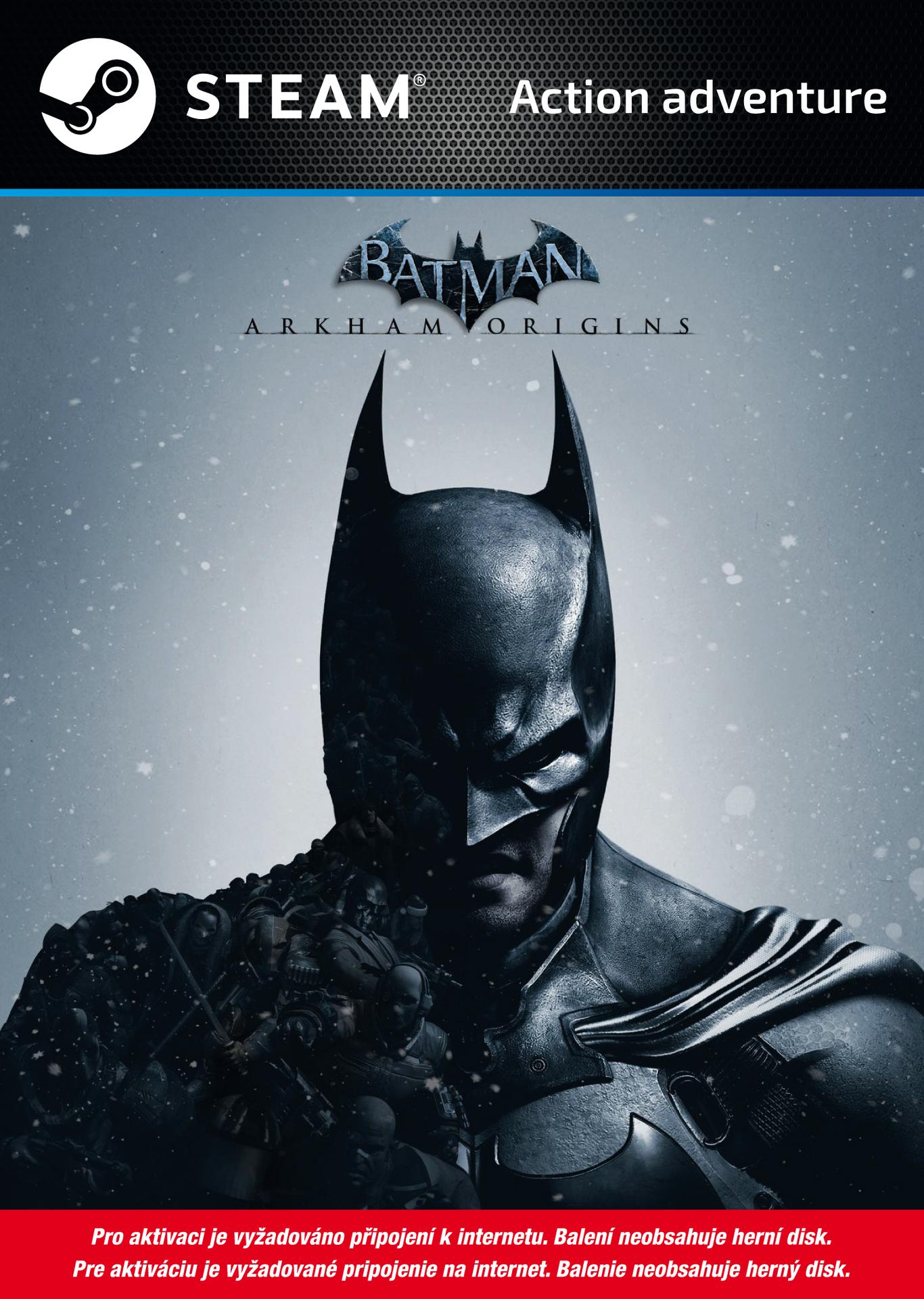 Batman: Arkham Origins (bez disku) (PC)