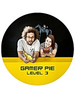Přívěšek s otvírákem Gamer Pie - Level 3 (56mm)