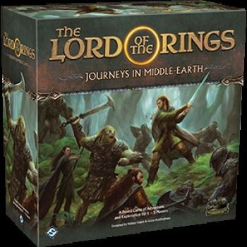 Desková hra The Lord of the Rings: Journeys in Middle-Earth Board Game EN (PC)