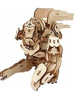 Stavebnice Overwatch - Winston (dřevěná)