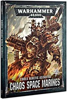 Kniha W40k: Codex: Chaos Space Marines (2019)