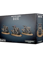 W40k: Chaos Space Marines - Bikers (3 figurky)