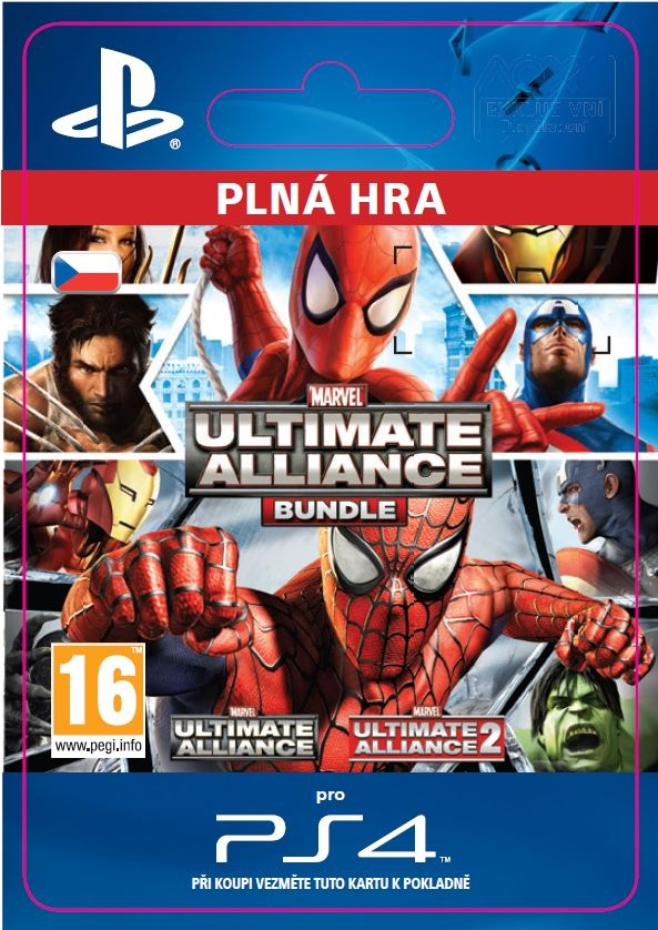Marvel: Ultimate Alliance Bundle (PS4 DIGITAL) | Xzone cz