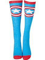 Ponožky dámské Marvel - Captain America Shield (podkolenky)