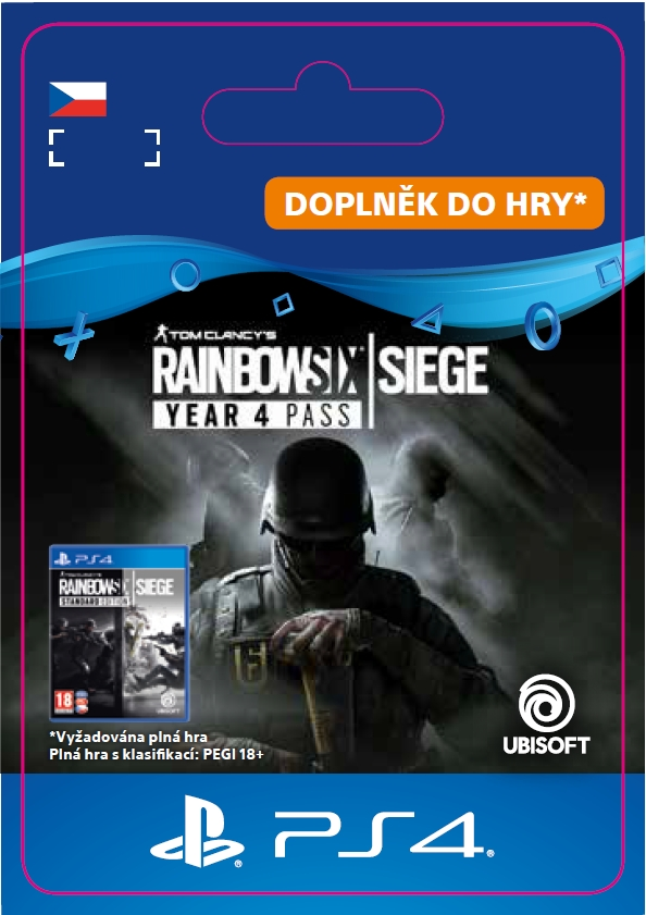 Rainbow Six: Siege - Year 4 Pass (PS4 DIGITAL)