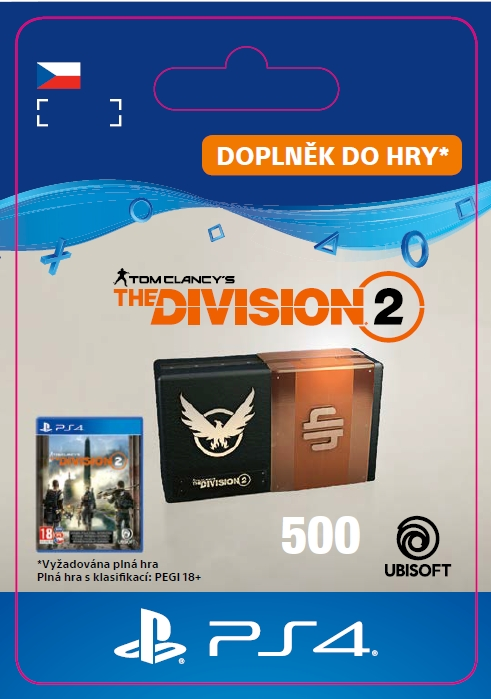 The Division 2 - 500 Credits (PS4 DIGITAL)