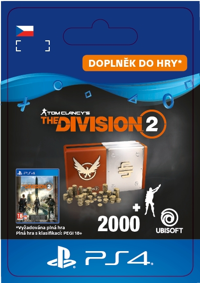 The Division 2 - Welcome Pack (PS4 DIGITAL)