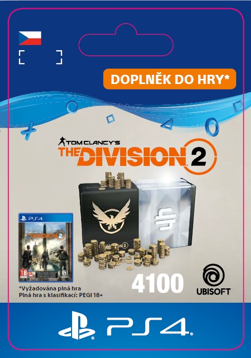 The Division 2 - 4100 Credits (PS4 DIGITAL)