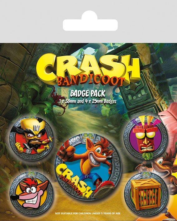 Odznaky Crash Bandicoot - Mix (PC)