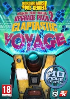 Borderlands The Pre-Sequel Claptastic Voyage and Ultimate Vault Hunter Upgrade Pack 2 MAC (PC DIGITAL)