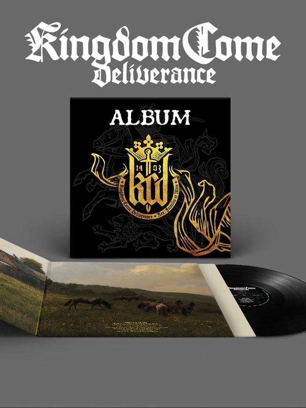 Vinylová deska Kingdom Come: Deliverance - Album (PC)