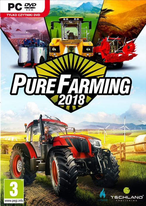 Pure Farming 2018 (PC) Klíč Steam (PC)