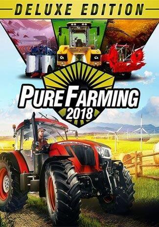 Pure Farming 2018 - Pure Farming Deluxe (PC) Klíč Steam (PC)