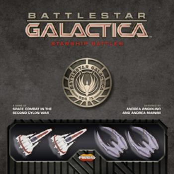 Desková hra Battlestar Galactica - Starship Battles (PC)