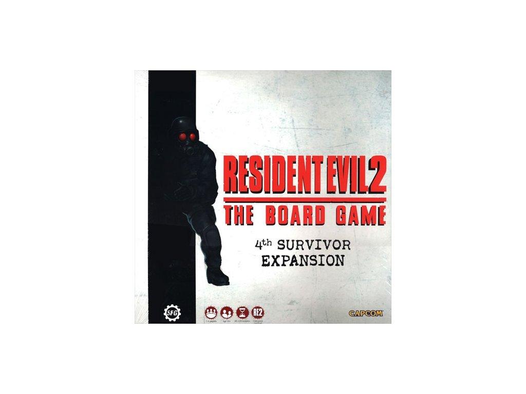 Desková hra Resident Evil 2 - 4th Survivor Expansion (rozšíření)  (PC)