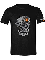 Tričko Call of Duty: Black Ops 4 - Skull with Cammo (velikost XL) (PC)