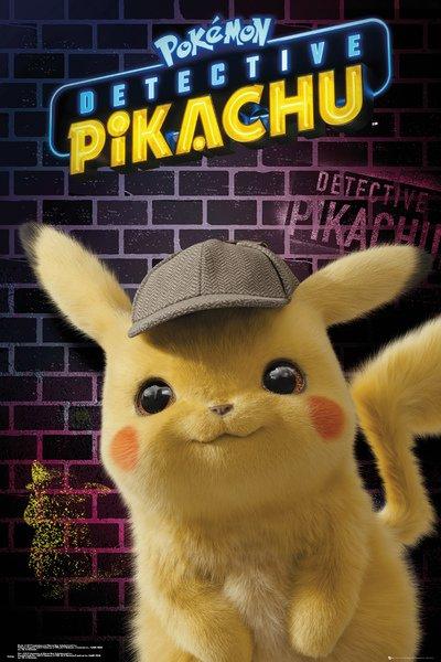 Plakát Pokémon - Detective Pikachu (PC)