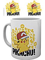 Hrnek Pokémon - Pikachu s čepicí
