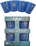 Skleničky Fallout - Set 4 ks panáků