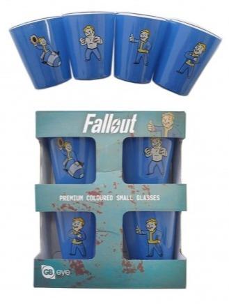 Skleničky Fallout - Set 4 ks panáků (PC)