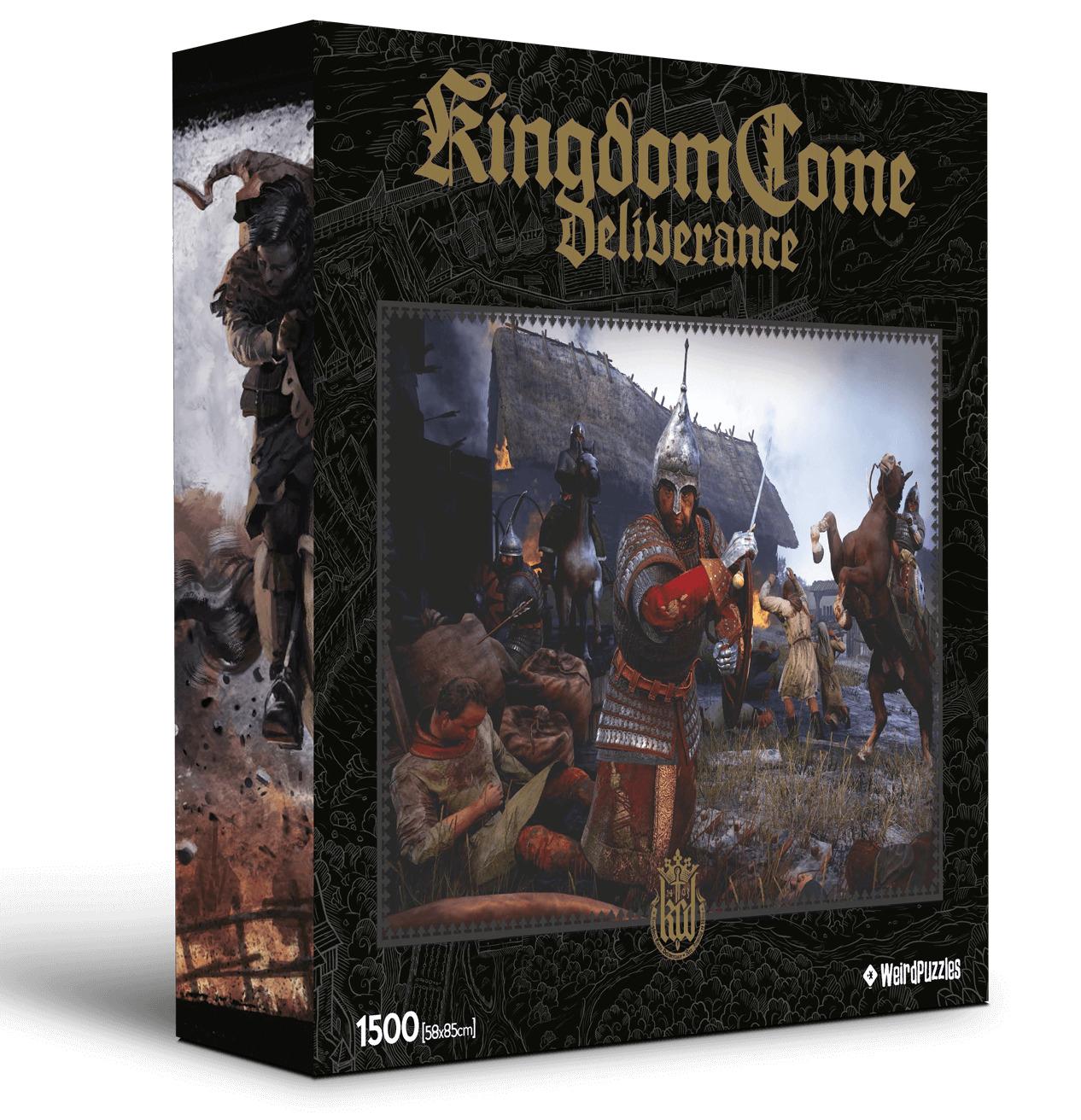 Puzzle Kingdom Come: Deliverance 1 - Drancování vesnice (PC)
