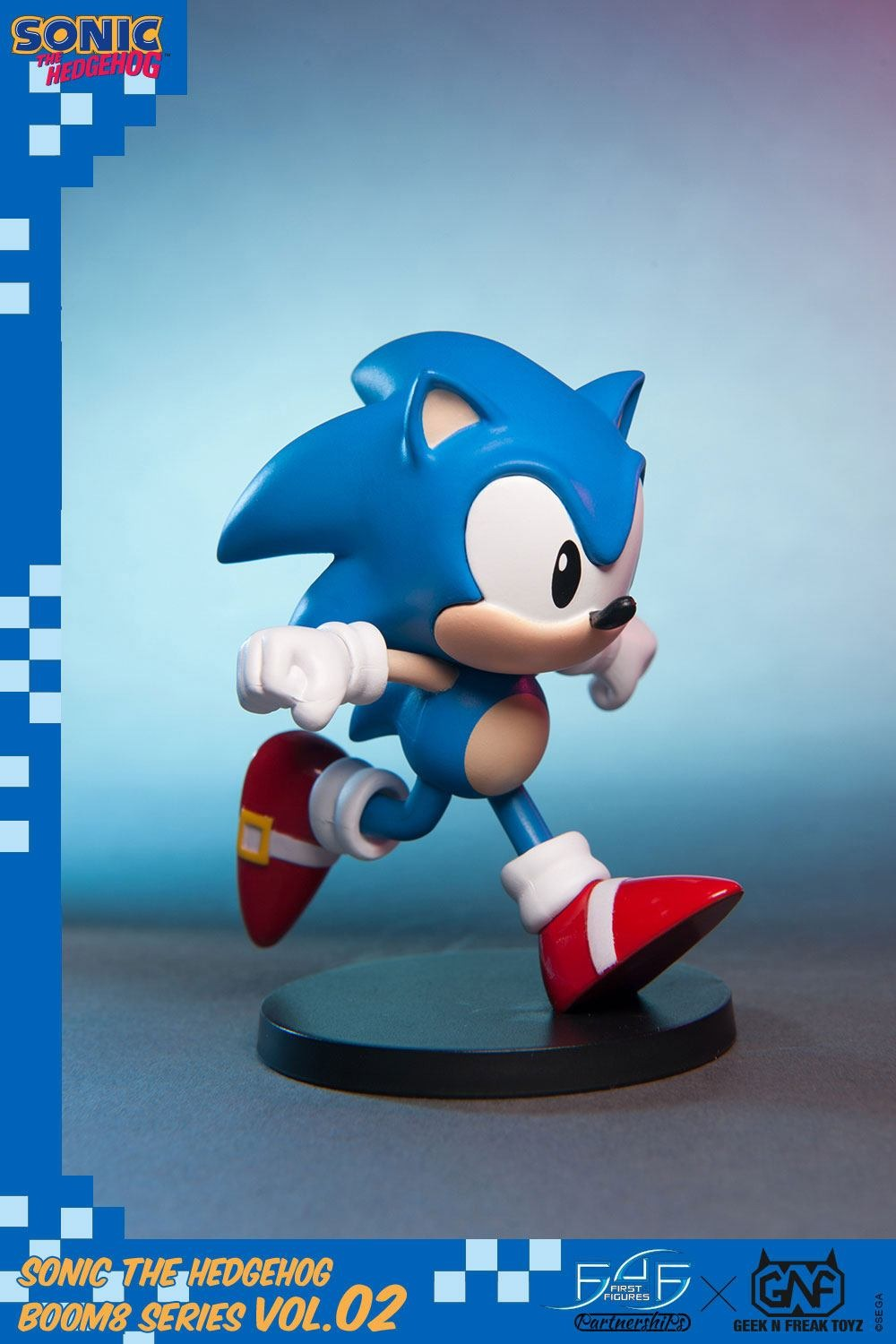 Figurka Sonic The Hedgehog - BOOM8 Series Vol. 2 Sonic (First 4 Figures) (PC)