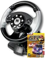 Volant Silver Lightning Wheel 2in1 + GTR 2 (PC)