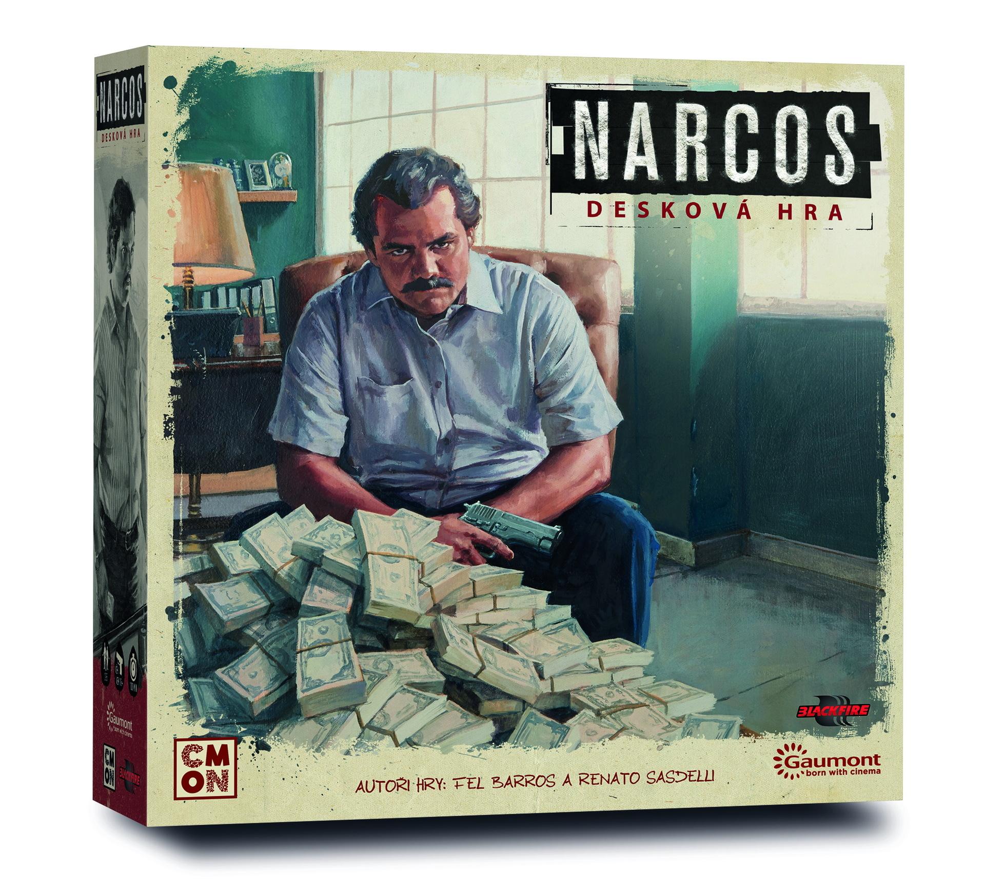 Desková hra Narcos CZ (PC)