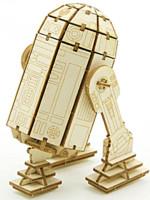 Stavebnice Star Wars - R2-D2 (dřevěná)