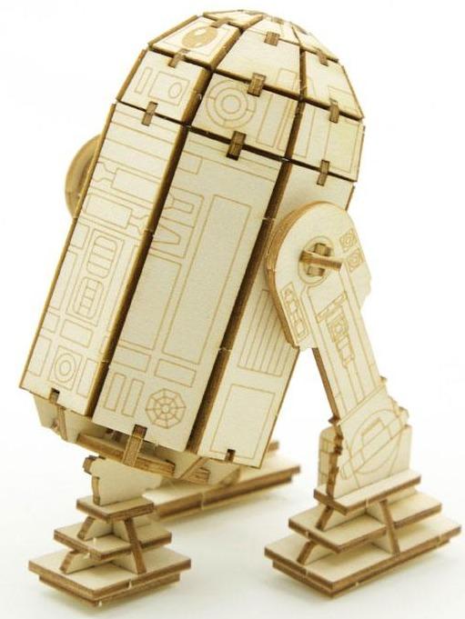 Stavebnice Star Wars - R2-D2 (dřevěná) (PC)